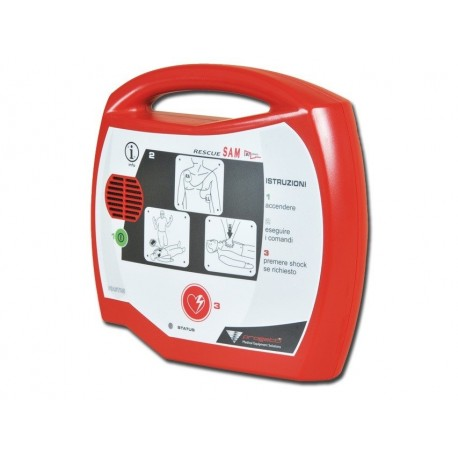 AED DEFIBRILLATORE AED RESCUE SAM
