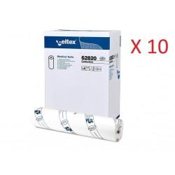 CELTEX COLLECTION LENZUOLINO MEDICO PURA CELLULOSA 2 VELI (60CM x 80MT - CONFEZIONE DA 60 ROTOLI)