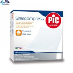 ARTSANA STERICOMPRESS COMPRESSA DI GARZA PIEGATA STERILE IN COTONE 100% - 36CMX40CM - (CONF. 12 PZ.)