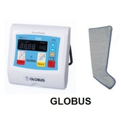 GLOBUS PRESSOTERAPIA PRESSCARE G200M-1 CON UN GAMBALE +  COPPIA DI GAMBALI TNT IN OMAGGIO