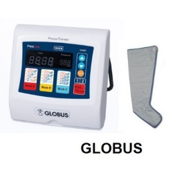 GLOBUS PRESSOTERAPIA PRESSCARE G300 M-1 3 PROGRAMMI CON UN GAMBALE + COPPIA DI GAMBALI TNT IN OMAGGIO