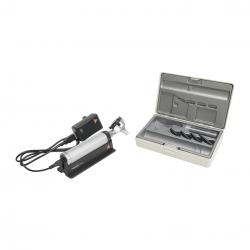 HEINE OTOSCOPIO  BETA 400 A FIBRA OTTICA  LED  CON CAVO USB E ALIMENTATORE ELETTRICO